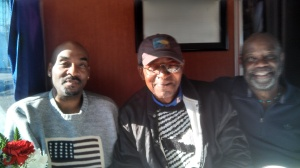 From left to right: Nelson, John and Willie.